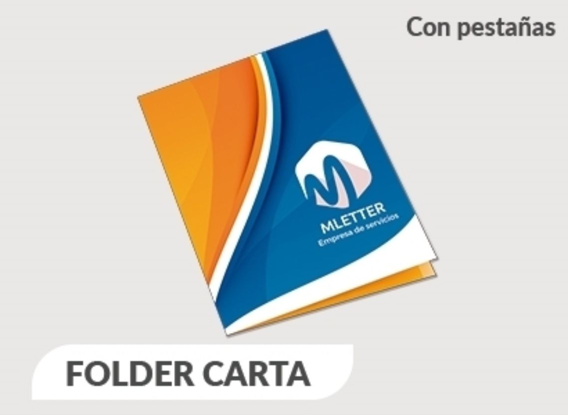 folders con pestañas